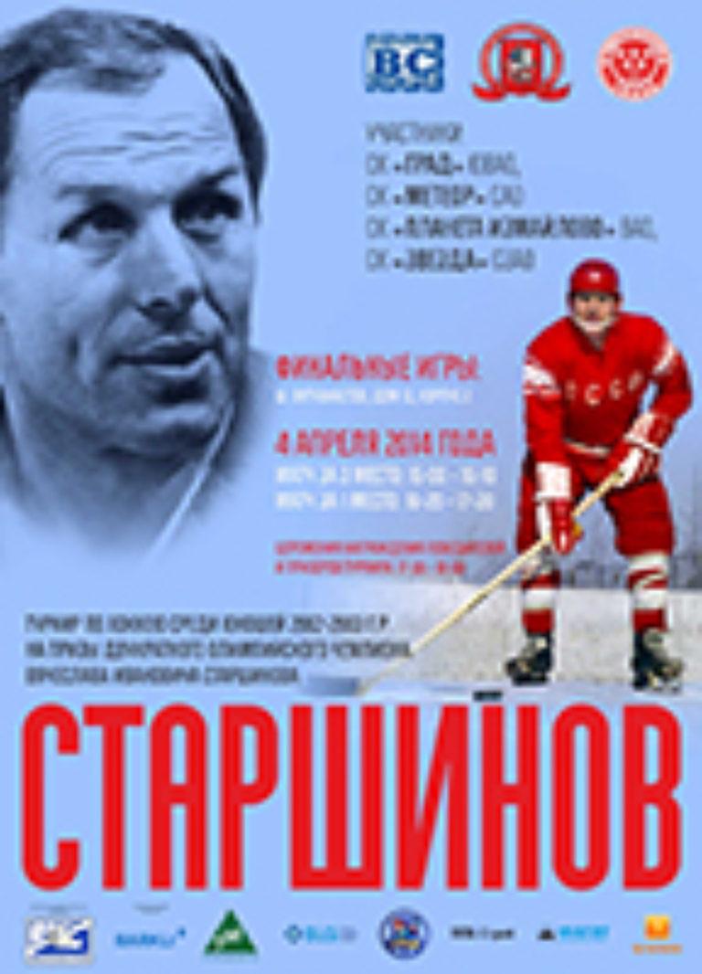 Турнир на призы Старшинова В.И. 2014 г.