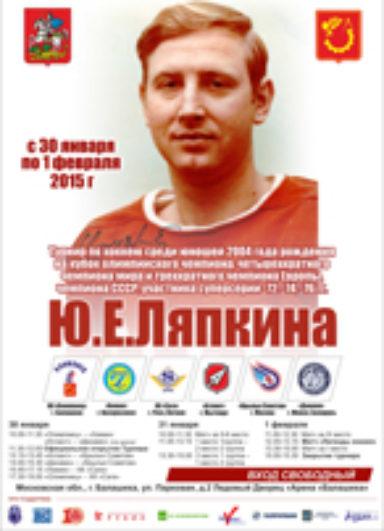 Турнир на призы Ляпкина Ю.Е. 2015 г.