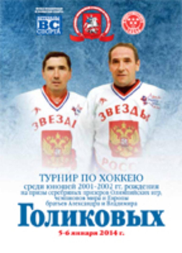 Турнир на призы братьев Голиковых 2014 г.