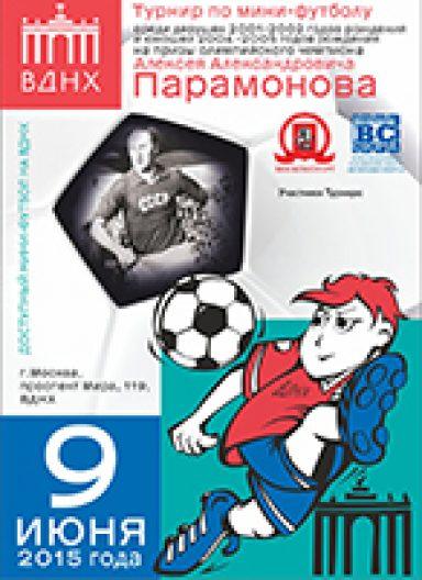 Турнир по мини-футболу на призы Парамонова А.А. 2015 г.