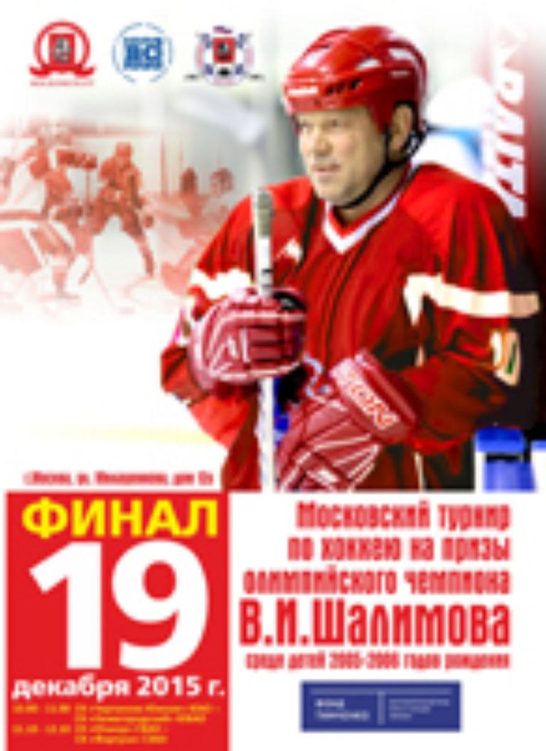 Турнир на призы Шалимова В.И. 2015 г.