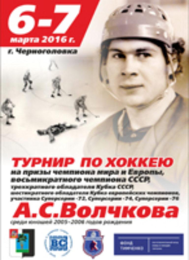Турнир на призы Волчкова А.С. 2016 г.