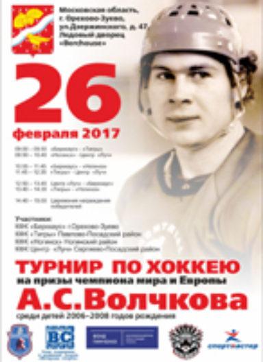 Турнир на призы Волчкова А.С. 2017 г.